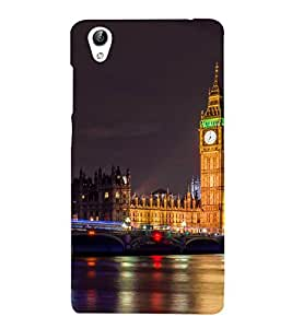 Vizagbeats Big ben Back Case Cover for Oppo F1 Plus