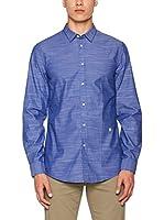 Trussardi Jeans Camisa Hombre (Azul)