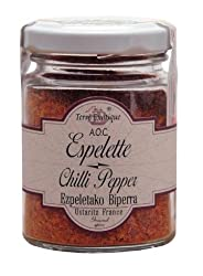 Terre Exotique Espelette Chili Pepper Imported French Basque Chillies 1.4 Oz