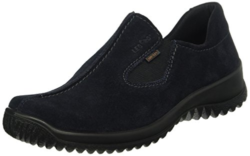 Legero Softshoe Mocassini, Donna, Blu (Pacific 80), 38