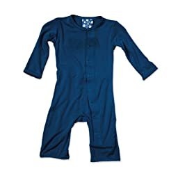 KicKee Pants Coverall in Twilight, 0-3M