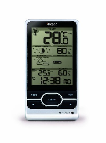Oregon Scientific BAR208 Wireless Weather Station with Humidity and Weather Alert