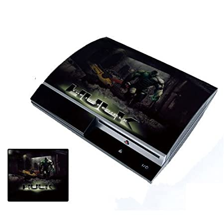Hulk PS3 Playstation 3 Body Protector Skin Decal Sticker, Item No.PS30853-33