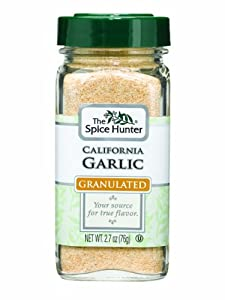 The Spice Hunter Garlic, California, Granulated, 2.7-Ounce Jar