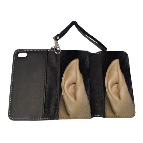 Spock Ear - iPhone 5/5s Leather Wallet Case