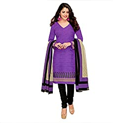 Miraan Cotton Dress Material / Chudidar Suit for Women