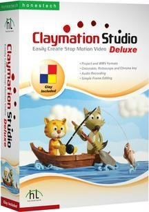 Claymation Studio Deluxe Create Stop Motion Video Includes Clay