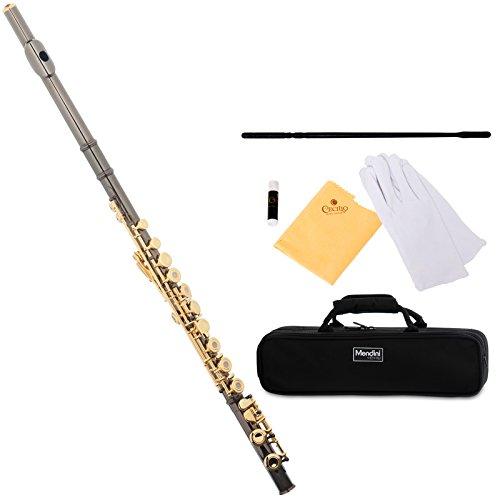 mendini-mfe-22bng-flute-black-gold