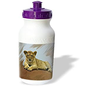 wb_4058_1 Wild animals - Lion Cub - Water Bottles