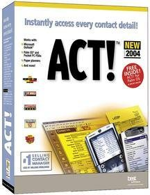 Best Software ACT! 6 for 2004