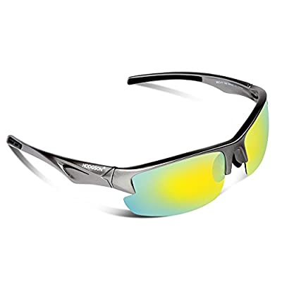 HODGSON Polarized Sunglasses for Men Women,Wayfarer Style Unbreakable Sunglasses