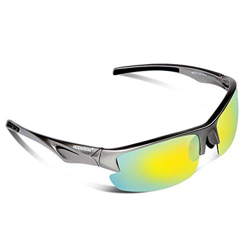 HODGSON Polarized Sunglasses for Men Women, Unique Style Unbreakable Sunglasses ¡