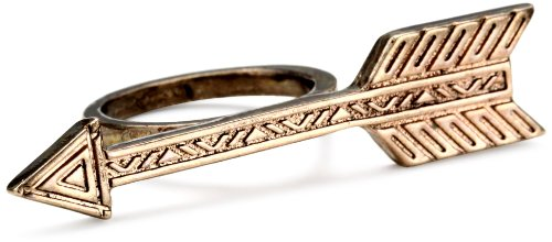 House of Harlow 1960 Antiqued Arrow Ring, Size 8