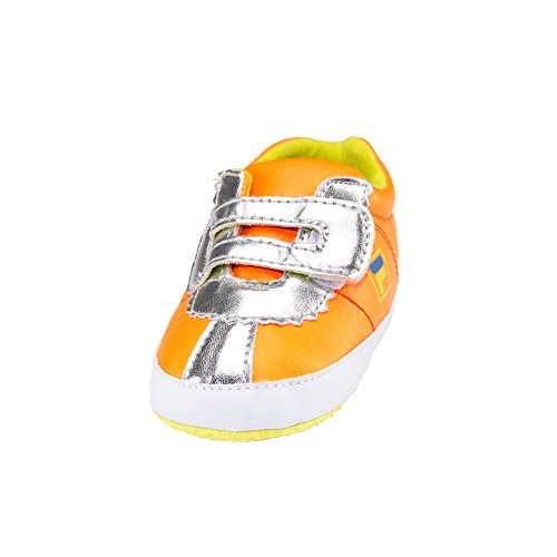 Fila Shoe Lowtop Babies Crib Shoes (6-12, Orange)