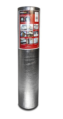 Reach Barrier Dd48025 Air Double Reflective Polyethylene Insulation Roll, 4-Feet By 25-Feet