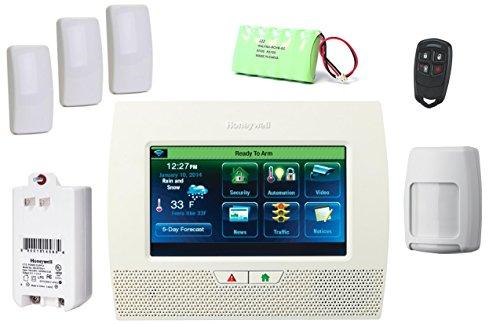 Honeywell Lynx Touch L7000 Wireless Security Alarm Slim Line Kit (2gig Garage Door Sensor compare prices)
