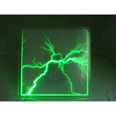 Amazon Com Modern 16 Quot Green Plasma Plate Lumin Glass