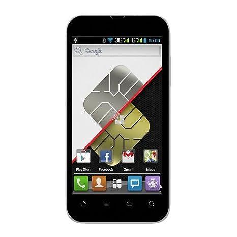 AEG AX 500 Smartphone débloqué (4 pouces - 4 Go) Noir (import Espagne)