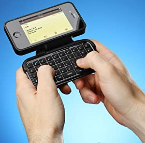 TK-421 iPhone Case with Flip-Out Keyboard - iPhone 4