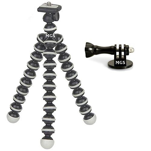 madridgadgetstorer-tripode-octopus-de-bolas-adaptador-tornillo-moleteado-compatible-con-camaras-de-a