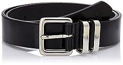 United Colors of Benetton Men's Leather Belt (8903975219380_16A6BLTL6014I901L)