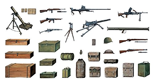 Italeri Models Military Accessories Kit - 1