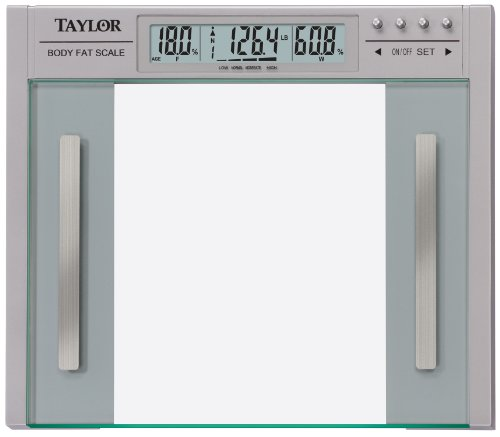 Image of Taylor 5758f Body Fat and Body Water, Large Profile Scale, 440-Pounds (57584192F)