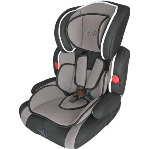 Bebe Style Deluxe Group 1-2-3 childs car and booster seat. Grey - Black.