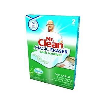 mr clean magic eraser bath scrubber 2 pack. Black Bedroom Furniture Sets. Home Design Ideas