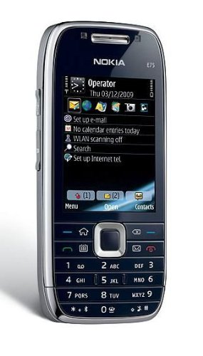 Brand New Nokia E75-1 Silver Black Factory Unlocked made in Finland GSM phone