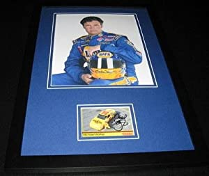 Michael Waltrip Autographed Photograph - Framed 11x17 Display - Autographed NASCAR... by Sports Memorabilia