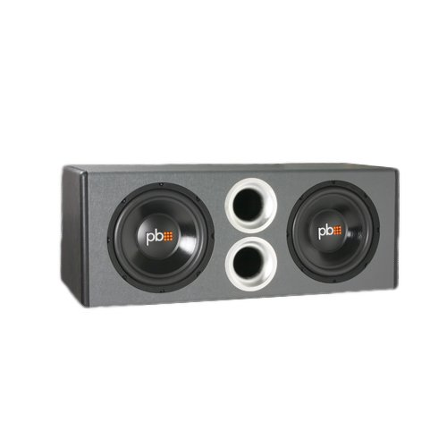 Powerbass Pswb10 Dual 10-Inch Loaded Enclosure