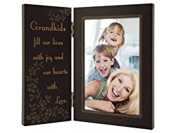 Malden Grandkids Fill Our Lives with Joy and Our Hearts with Love Storyboard Frame, 4 by 6-Inch