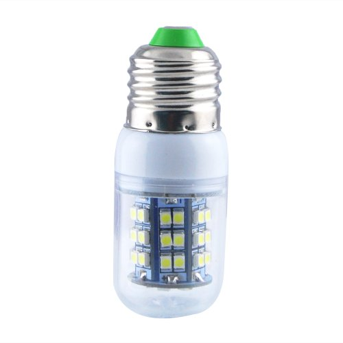 Jombo A Piece Of Energy Saving 280Lm Warm White Corn Light Lamp Bulb E27 48 Smd 3528 Led 6000-6500K Equivalent Halogen 40W With Transparent Cover