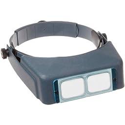 Donegan Optivisor Magnifier Jewelry Reading Jeweler Opti visor 2.5X Distance 8\