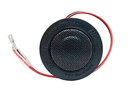 Earthquake 25 mm Globe oculaire Neo Tweeter à dôme en soie, Xover 12 dB en ligne, Multi-montage