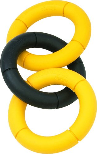 Jw Pet Company Invincible Chains St Triple Dog Toy, Small (Colors Vary)