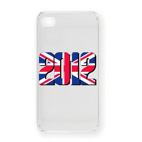 2012 Union Jack iPhone4オリジナルケース(クリア)