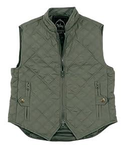 Pfiff - Chaleco de equitación para mujer (microfibra) gris gris Talla:medium
