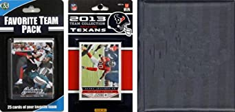 NFL Houston Texans Licensed 2013 Score Team Set and Favorite Player Trading Card Pack by C&I Collectables