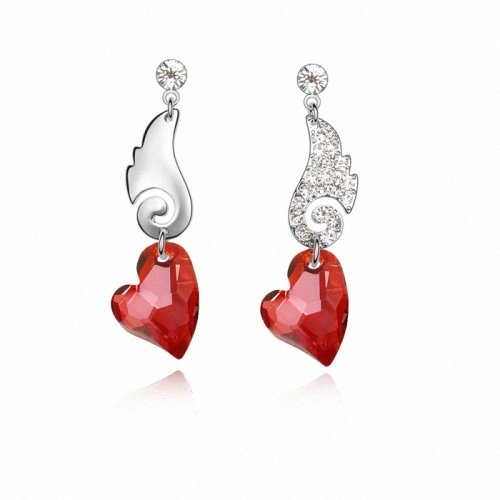 TAOTAOHAS- [ Search Name: Honey Jupiter ] (1PAIR) Crystallized Swarovski Elements Austria Crystal Earrings, Made of Alloy Plated with 18K True Platinum / White Gold and Czech Rhinestone