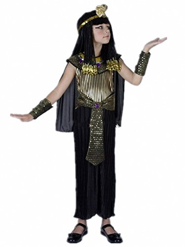 Halloween Cosplay Costumes of Egyptian Pharaoh Clothes for Girls