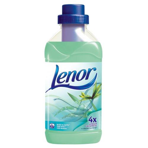 Assouplissant parfum rosee du matin LENOR, 27 doses, 750ml