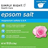 Member's Mark (Simply Right) Epsom Salt 10 lb by Simply Right BEAUTY