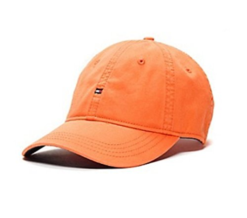 Tommy Hilfiger Baseball Hat Cap (Orange-Microflag) (Tommy Hilfiger Caps For Men compare prices)