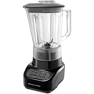 Countertop Blender : Amazon.com: KitchenAid KSB465OB 4-Speed Countertop Blender with 48 ...