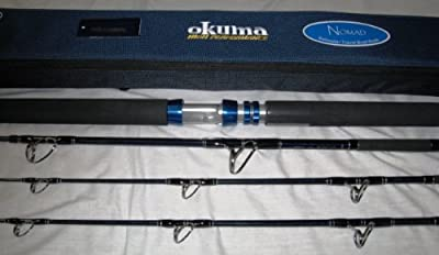 Okuma Nomad 31 Piece Saltwater Travel Rods by okuma