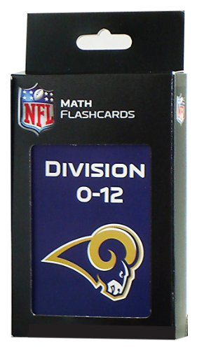 NFL St. Louis Rams Division Flash Cards