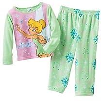 Disney Fairy Cute Tink 2 pc Fleece Pajama Set (2T)