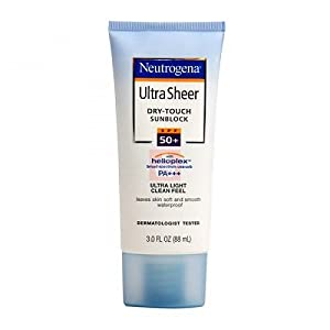 Neutrogena Ultra Sheer Dry-Touch Sunscreen, Broad Spectrum SPF 55, 3 Fl. Oz